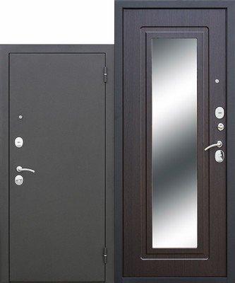 Дверь входная Царское зеркало муар Венге