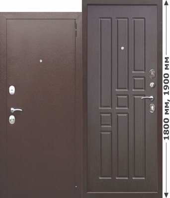 Дверь входная Гарда mini Венге