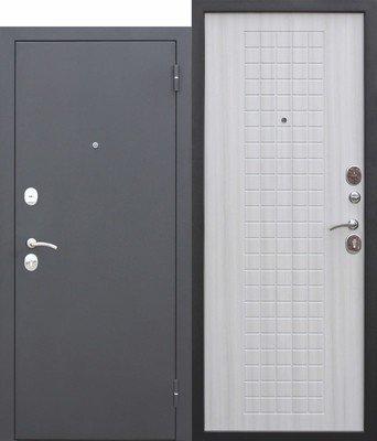 Дверь входная Гарда Муар 8мм Белый Ясень