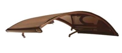 Козырек в разобранном виде К6-B 1400х900 коричневый
