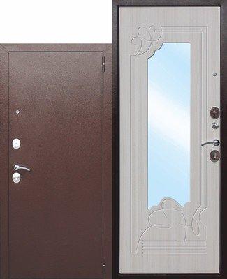 Дверь входная Ampir Белый Ясень