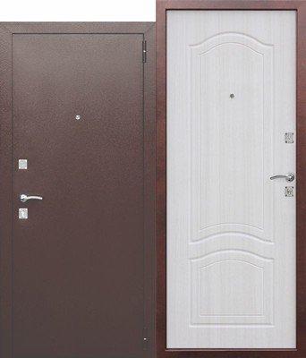 Дверь входная Dominanta Белый ясень