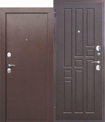 Дверь входная Гарда 8мм Венге ВО