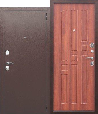 Дверь входная Гарда 8 мм Рустикальный дуб