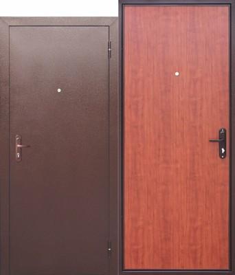 Дверь входная Стройгост 5 РФ Рустикальный дуб