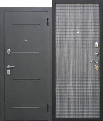 Дверь входная 7,5 см Гарда муар Венге Тобакко