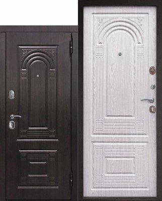 Дверь входная Флоренция Винорит Беленый дуб