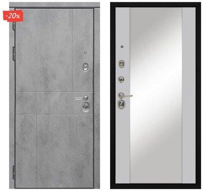 Дверь входная МД-48 - Силк Маус (Зеркало)