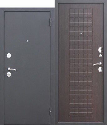 Дверь входная Гарда Муар 8мм Венге