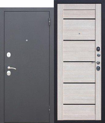 Дверь входная Гарда муар Лиственница мокко Царга