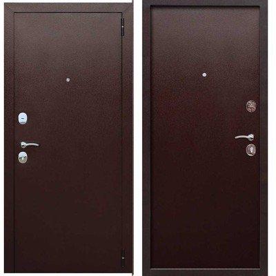 Дверь входная 7,5 см Гарда металл/металл