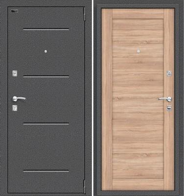 Porta R 104.П21 Антик Серебро/Light Sonoma