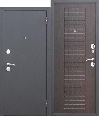 Дверь входная Гарда 8 мм Венге