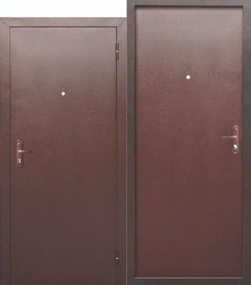 Дверь входная Стройгост 5 РФ металл/металл