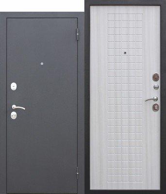 Дверь входная Гарда 8 мм Белый Ясень