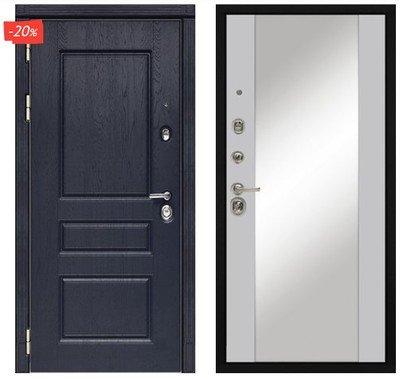 Дверь входная МД-45 - Силк Маус (Зеркало)