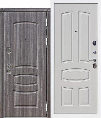 Дверь входная 12 см Гранада Белый ясень