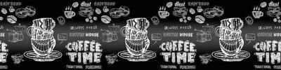 Фартук для кухни «Кофе time»