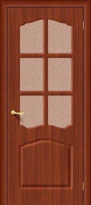 Дверь межкомнатная Лидия П-17 (ИталОрех) Риф.