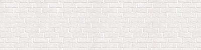 Фартук для кухни «Белые кирпичи»