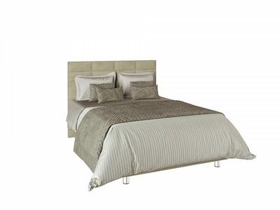 Кровать с подъемным механизмом Валенсия на ножках 1,4м Beige