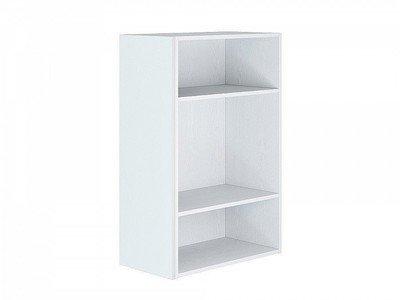 Фасад боковой Валерия-М для верхнего шкафа Белый металлик