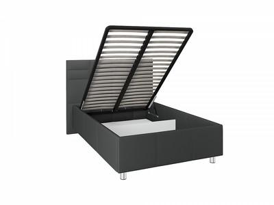 Кровать с подъемным механизмом Валенсия на ножках 1,4м Grey