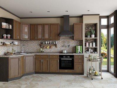Фартук для кухни «Мозаика»