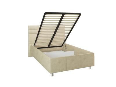 Кровать с подъемным механизмом Валенсия на ножках 1,6м Beige