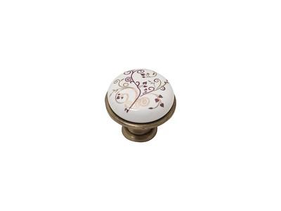 Ручка кнопка мебельная KF01-04